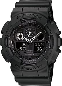 G-SHOCK The GA 100 Military Series Watch in BlackWatches for Men