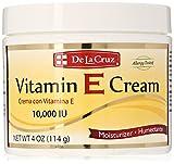 De La Cruz Vitamin E Cream, 4 Ounce