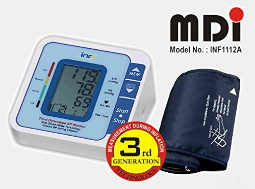 INF 1112A Digital Blood Pressure Monitor MDI