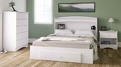 Contemporary Storage Bedroom Set
