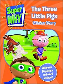 Super why the three little pigs book