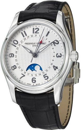 Frederique Constant Men's FC330RM6B6 RunAbout Analog Display Swiss Automatic Black Watch image