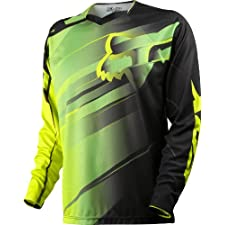Fox Head Men's Demo Long Sleeve Jersey Green