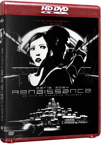 Ренессанс / Renaissance (Кристиан Волкман) [2006 г., Детектив, Анимационный, Фантастика, HDRip]