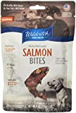 WildCatch for Pets 0.35-Inch by .5-Inch Salmon Bites for Dogs, 4-Ounce