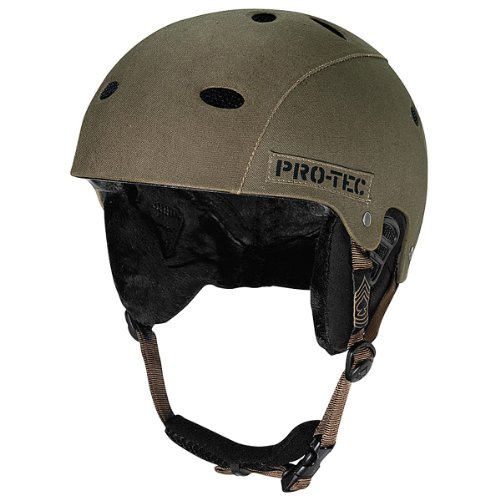B2 Snow Helmet - Army Green Canvas