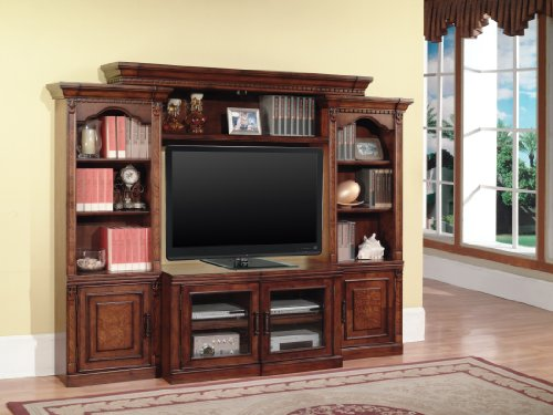 Premier Athens 4 Piece Expandable Entertainment Wall Unit