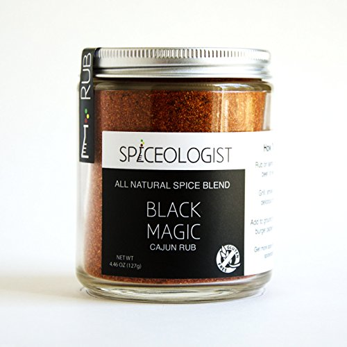 Spiceologist - Black Magic BBQ Rub And Seasoning - Cajun Spice Blend - 9 Oz.