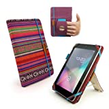 Tuff-Luv Embrace Plus Etui (Inclus fonction ''sleep'') pour Kindle Fire (non HD) / Google Nexus 7 / Asus Memopad 7 - Navajo