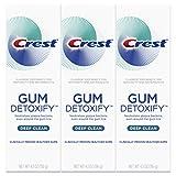 Crest Gum Detoxify Deep Clean Toothpaste, 4.1 oz, Triple pack