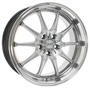 Kyowa Racing Trek 10 (Series 656) Hyper Silver - 18 x 8 Inch Wheel