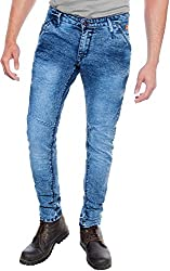 E Fashion Up Men's Skinny Fit Denim Jeans J9_Sky Blue_34