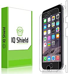 IQ Shield LiQuidSkin - Apple iPhone 6 Full Body Skin Protector 4.7 (Front & Back) with Lifetime Replacement Warranty - High Definition (HD) Ultra Clear Smart Film - Premium Protective Screen Guard - Extremely Smooth / Self-H