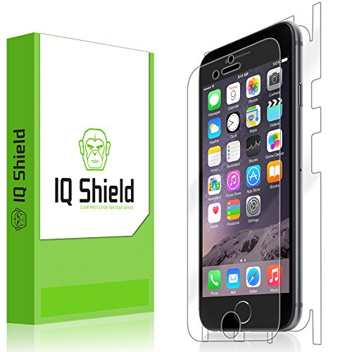 """Iq Shield Liquidskin - Apple Iphone 6 Full Body Skin Protector 4.7"""" (Front & Back) With Lifetime Replacement Warranty - High Definition (Hd) Ultra Clear Smart Film - Premium Protective Screen Guard - Extremely Smooth / Self-Healing / Bubble-Free Shield -"""