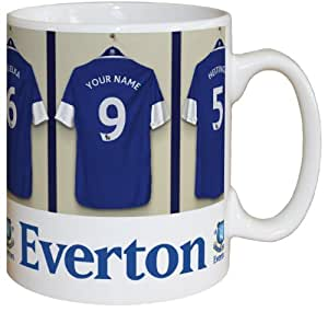 Personalised Everton Dressing Room Mug