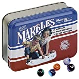 Channel Craft Marble Shooting Game, Classic Tin, Made in USA