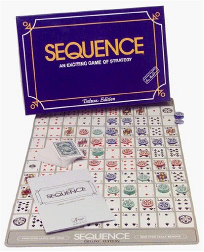 Deluxe Sequence (Sequence Board Game Jumbo compare prices)