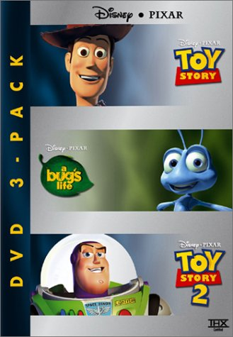 Disney Pixar DVD Three-Pack (Toy Story/A Bug's Life/Toy Story 2)