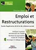 img - for Emploi et Restructurations (French Edition) book / textbook / text book