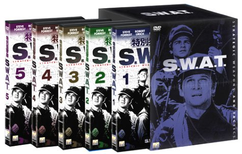 特別狙撃隊 S.W.A.T 1st SEASON BOX (5枚組) [DVD]