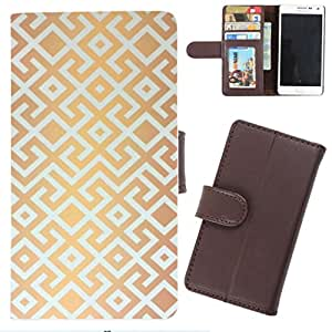 DooDa - For Micromax Yu Yureka PU Leather Designer Fashionable Fancy Wallet Flip Case Cover Pouch With Card, ID & Cash Slots And Smooth Inner Velvet With Strong Magnetic Lock