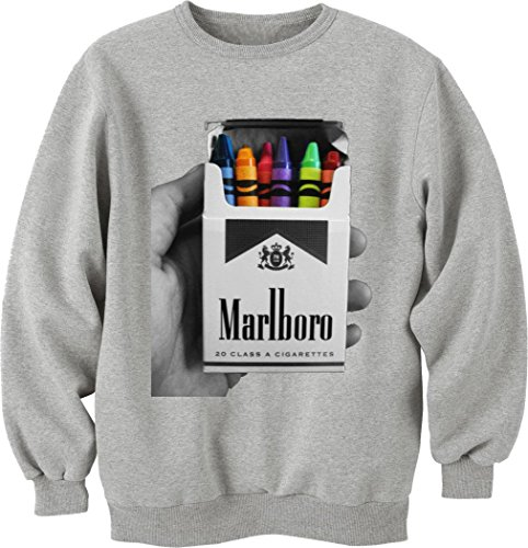 marlboro-cigarettes-crayon-pack-unisex-crewneck-sweatshirt-medium