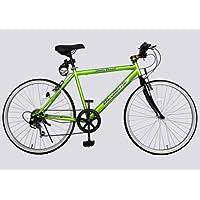 SHINEWOOD�W(シャインウッド) 自転車 26インチ クロスバイク 軽量 シマノ6段変速 自転車 マウンテンバイク シマノ シティサイクル 男性 女性 通勤 通学 ライト鍵付き 3色 (MS)