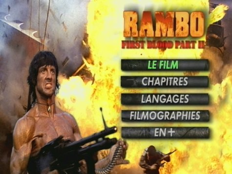 Rambo: First Blood Part II [DVD] [Import]