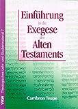 echange, troc Cambron Teupe - Einführung in die Exegese des Alten Testamentes (Livre en allemand)