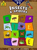 img - for Insects and Spiders (A School Zone Science Workbook) book / textbook / text book