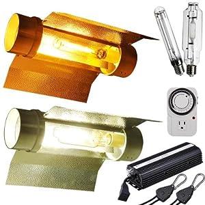 Wing Cool Tube HPS MH Grow Light Kit 600w
