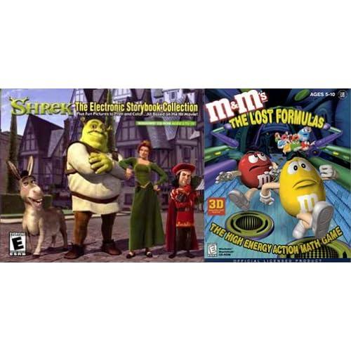 Amazon.com: Shrek Storybook / M&Ms Lost Formulas (Jewel ...: http://amazon.com/shrek-storybook-lost-formulas-jewel-case/dp/images/b000078cp0