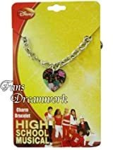 Disney High School Musical Heart Charm Bracelet - High School Musical Heart Dangle Bracelet