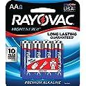 8-Pack Rayovac 815-8K Alkaline AA Batteries