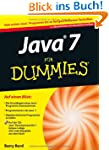 Java 7 f�r Dummies (Fur Dummies)