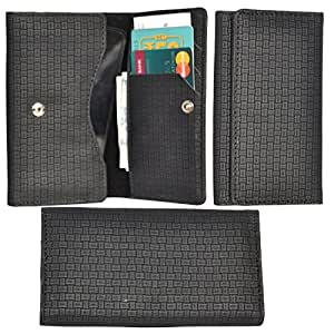 R&A Pu Leather High Quality Wallet Pouch Case Cover With Card Slot & Note Slots,Soft Inner Velvet For Micromax Canvas Xpress 2 E313