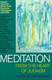 Meditation from the Heart of Judaism: Today's Teachers Share Their Practices, Techniques, and Faith