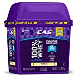 EAS 100% Pure Whey Protein Powder, Vanilla, 2lb (Packaging May Vary)