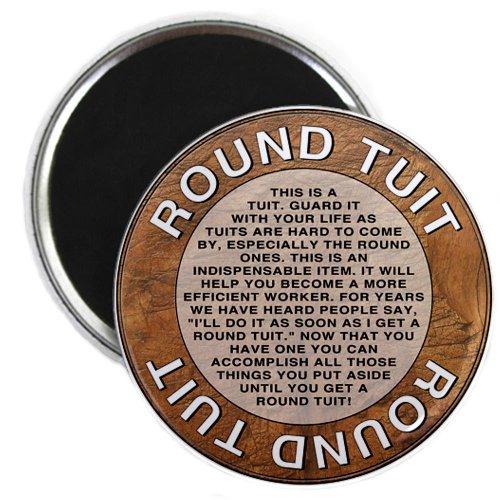 Multi-Pack Round TUIT Tokens 24//set