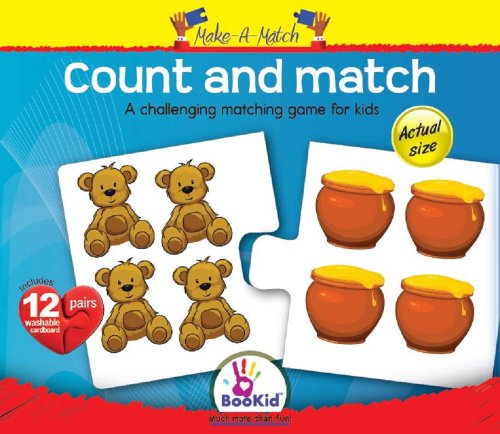 Make A Match Baby Puzzle Games - Count and Match. For 3+ Years Old