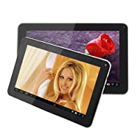 "Digital Reins 9"" Inch Tablet PC Google Android 4.0 Capacitive Multi-Touch Screen 8GB 512DDR3 Dual Camera A13 1.5GHz Supports Skype Video Chatting, YouTube, Google Play, Netflix"