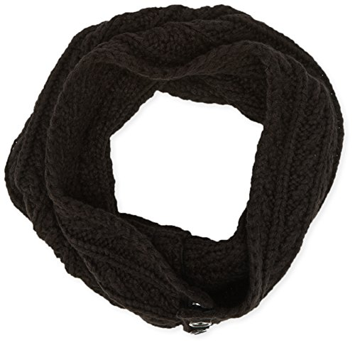 Name It - NITMEPHA K KNIT TUBE SCARF GIRL 415, Sciarpa per bambine e ragazze, nero (black), Talla unica