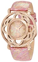 Brillier Women's 04-31325-07 Papillon Swiss-Quartz Mother-Of-Pearl Watch by Brillier