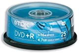 TDK DVD+R 16x 4.7GB (25 Tub)