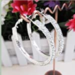 "Fashion 2 1/5"" Silver Plated 2-Row Cu..."