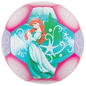 Buy Franklin Sports Disney Princess Air Tech Soft Foam Soccer Ball, Size 3 by Franklin Sports