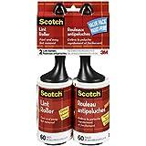 Scotch Lint 60-Sheet Roller, 2-Pack