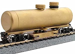 HO Scale Clean Machine Brass Track Cleaning Car