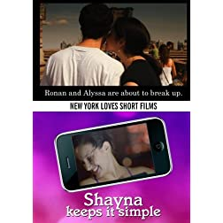Ronan and Alyssa are about to break up. / Shayna Keeps It Simple