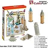 "CubicFun 3D Puzzle C-Series ""Mini Architecture Series 4"""